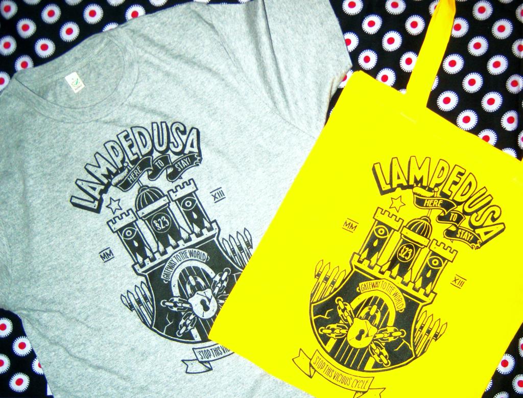 Lampedusa in Hamburg Shirt